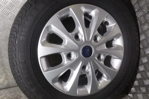 FORD TRANSIT CUSTOM SET OF 4 ALLOY WHEELS AND TYRES - 215/65R16C